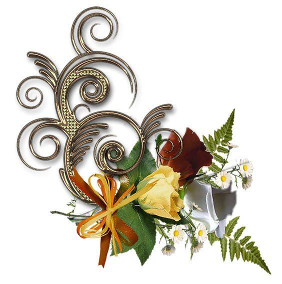 Dekorace s kytičkou různé | Tvoření