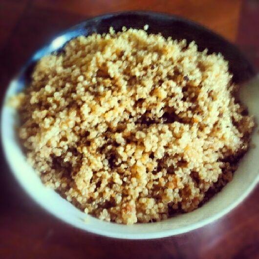 mexican quinoa (mexican rice made with quinoa)