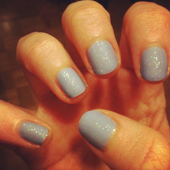 #mattenails #glitter #pastel