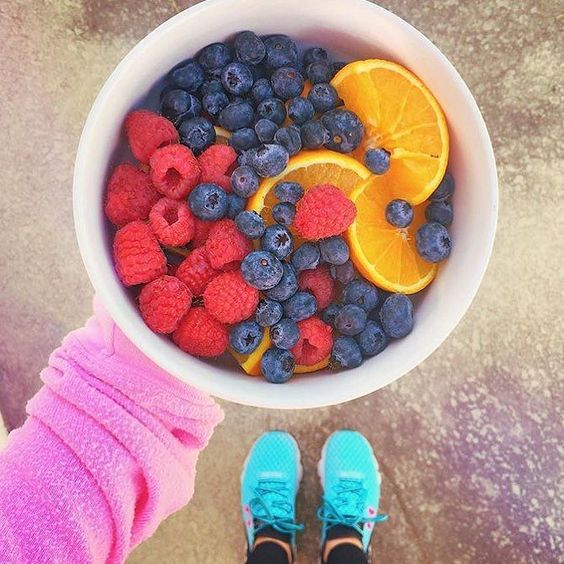 What's on your lunch menu for today? Looks like @nikkiphillippi has a bowl full of yummy!