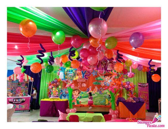 Bonitas ideas para tu pr xima fiesta de dora la - Todo para tu fiesta infantil ...