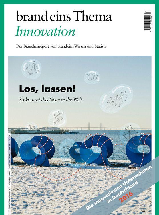 Erwähnt im Mittagssnack: Innovation 2016 – brand eins Thema