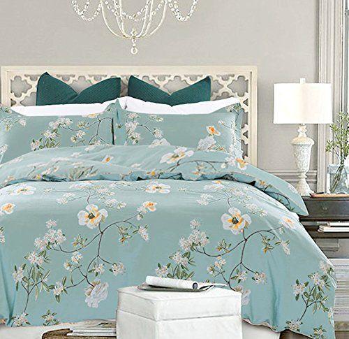 Nanko Bedding Duvet Cover Set Queen 3 Pieces 800 Threa Https Www Amazon Com Dp B06y1klrl5 Duvet Bedding Matching Bedding And Curtains Bed Duvet Covers