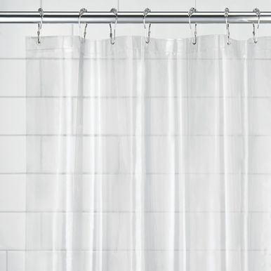 Royal Bath Easy On No Hooks Needed Extra Wide 108 X 72 Fabric Shower Curtain With Built In Hooks Bri Stall Size Shower Curtain Fabric Shower Curtains Curtains