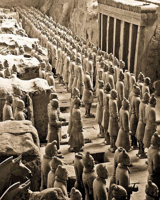 Explore Terr... Terracotta Army Qin Dynasty 210 Bc Art