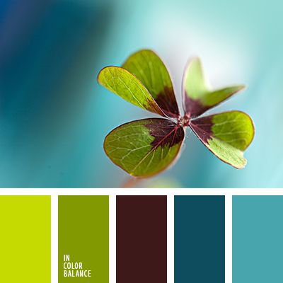 Fresh spring colors from the Russian site In Color Balance