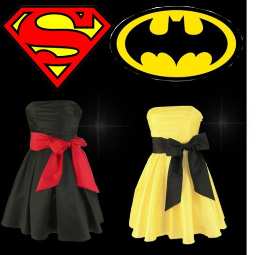 """Superman or Batman?"" by mariliasuckert ❤ liked on Polyvore"