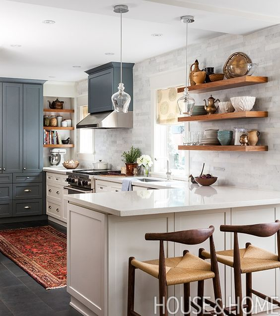 12 Designer Kitchens That Will Never Go Out Of Style Open Shelving Style And Design