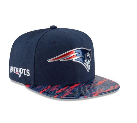 New England Patriots New Era Navy Color Rush On-Field Original Fit 9FIFTY Snapback Adjustable Hat