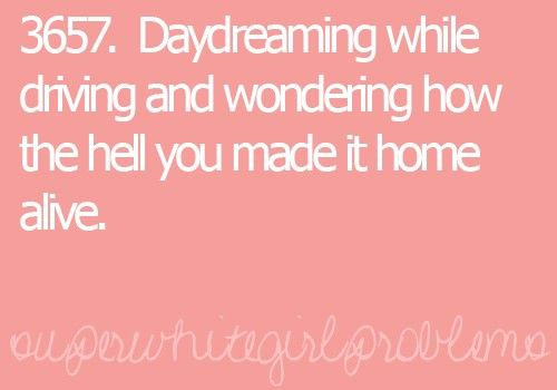 I Thought I Was The Only One Haha;