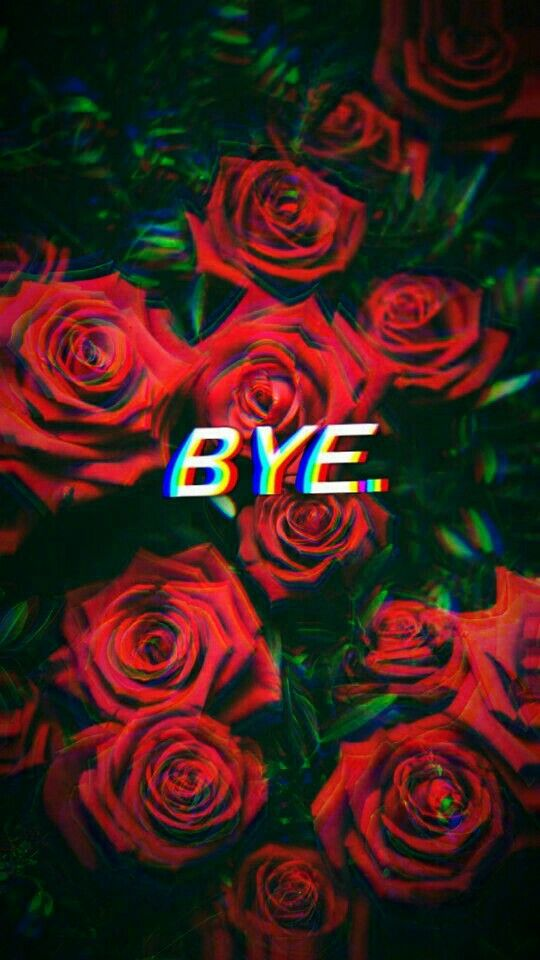 Roses Aesthetic Edits Glitch With Images Glitch Wallpaper