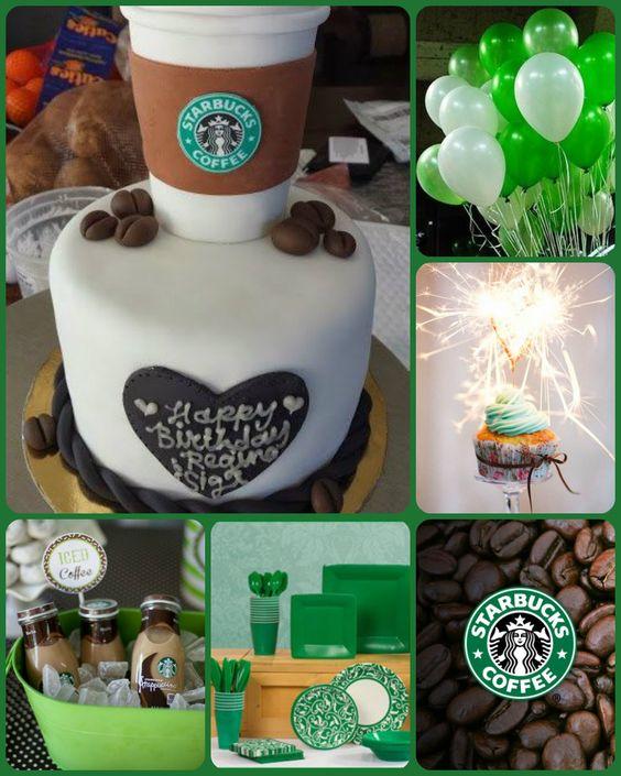 Starbucks party idea