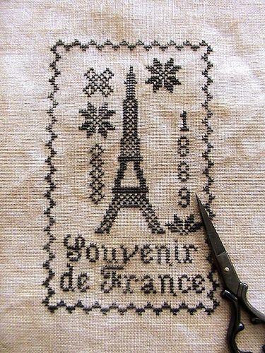 Souvenir de France - Blackbird Designs