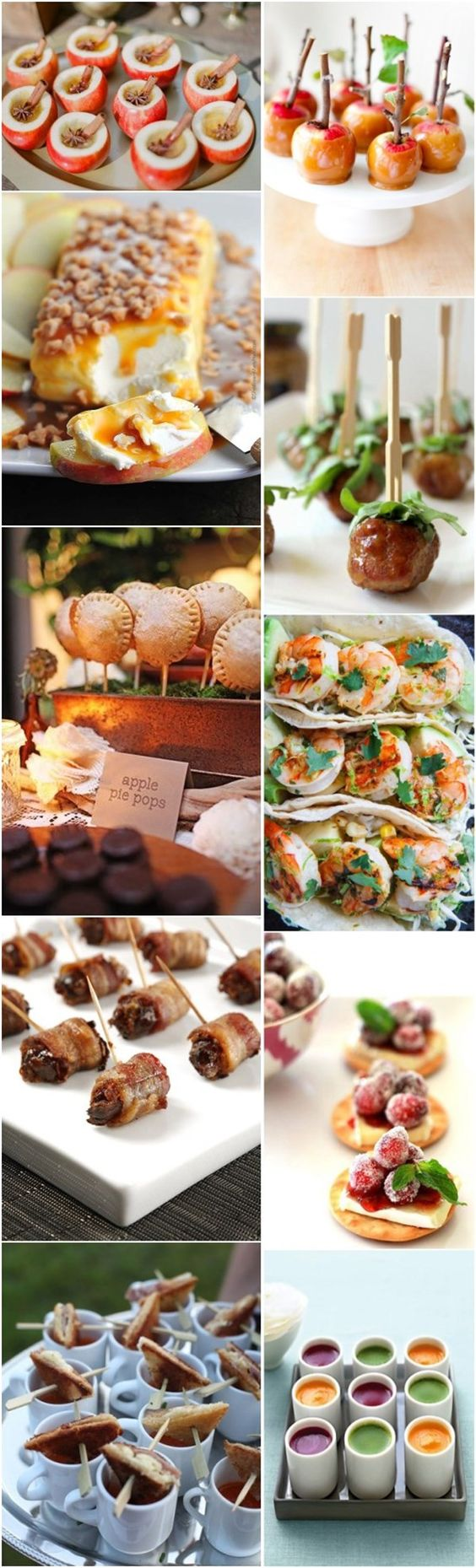 50 hottest fall wedding appetizers we love diy summer for Cheap wedding canape ideas