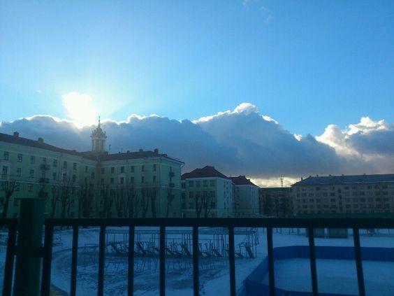 Huuugge cloud. Belarus