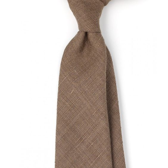 Handrolled Silk Tussah 8cm Tie - View All - Ties - Online Shop - Drake's