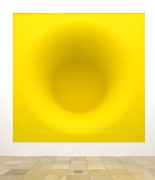 Anish Kapoor. Yellow, pigment and fibreglassUntitled, stainless...