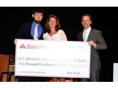 BOILING SPRINGS – Gardner-Webb University junior Adam Barnes of Gastonia has been named the winner of the Big South Conference's second annual State Farm Community Service Scholarship.
