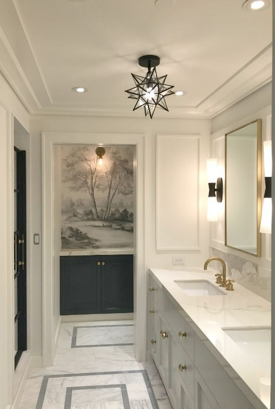 Lovely Bathroom Interior
