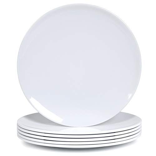Melamine Dinner Plates 6pcs 10inch Dinnerware Dishes Set For Indoor And Outdoor Use Break Resistan In 2020 Melamine Dinner Plates Melamine Dinnerware Sets Dish Sets