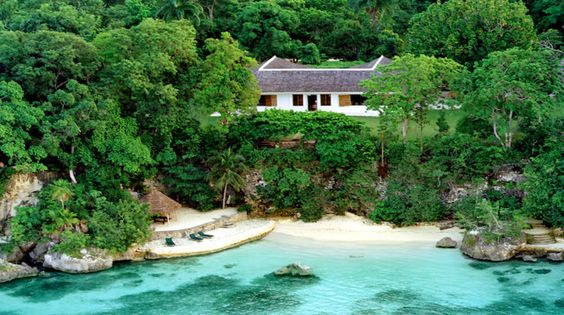 GoldenEye today: The Fleming Villa is the perfect secluded escape with its own private beach, pool, gardens and staff