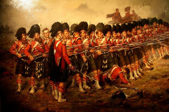 The Thin Red Line was a famous military action by the British Army's red-coated 93rd (Highland) Regiment at the Battle of Balaclava on October 25, 1854, during the Crimean War. In this incident the 93rd aided by a small force of Royal Marines and some Turkish infantrymen, led by Sir Colin Campbell, routed a Russian cavalry charge. Previously Campbell's Highland Brigade had taken part in actions at Alma and Sevastopol.