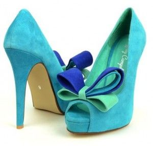 Jeffrey Cambell Garret Aqua - someday the royal blue will be the color of my bridesmaids dresses and these would be very fun!!