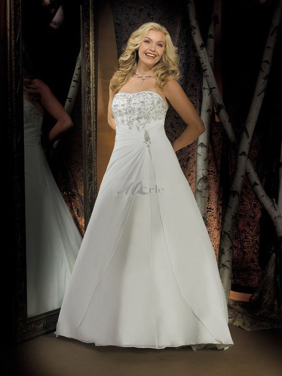 wedding dresses | How to Find Perfect Plus Size Wedding Dresses ...