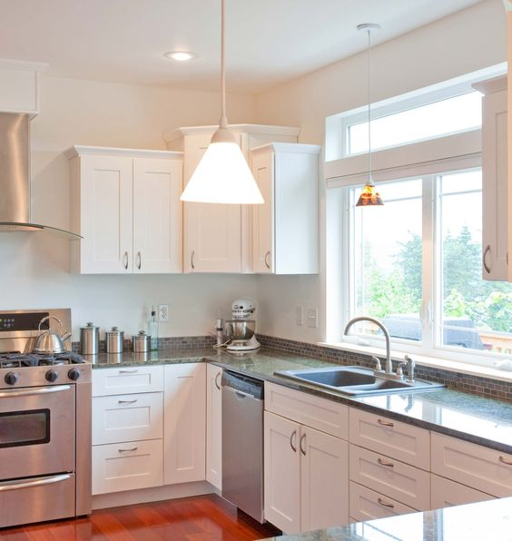 Kitchen Cabinets With Windows: Cabinets, Kitchens And Window On Pinterest