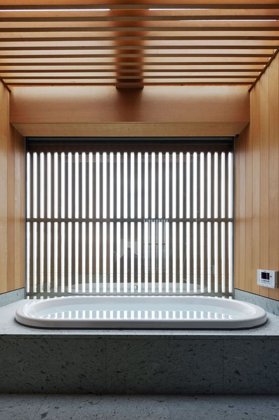 Nice Average Price Of Replacing A Bathroom Small Disabled Bath Seats Uk Regular Standard Bathroom Dimensions Uk Calming Bathroom Paint Colors Old Walk In Shower Small Bathroom BlackBath Vanities New Jersey The Art Of The Japanese Bath | House In Shioya By Mitsumasa ..