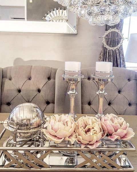 Louis Vingestol Greige Lux Spisetuestol Classic Living Lekre Mobler Og Dekor Living Room Decor Cozy Table Decor Living Room Interior Design Living Room