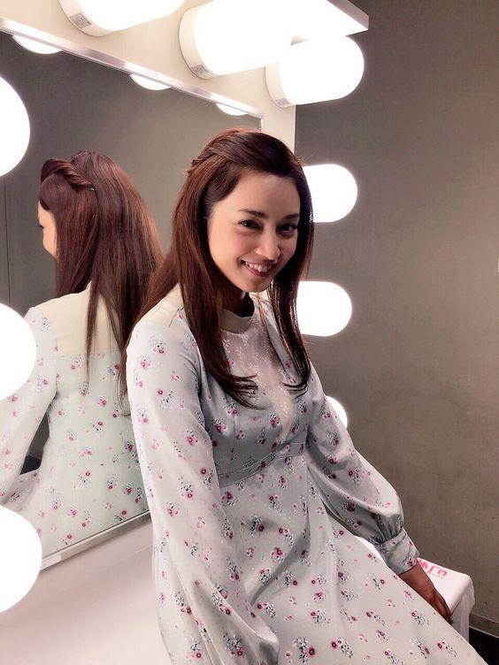 笑顔が素敵な平愛梨さん