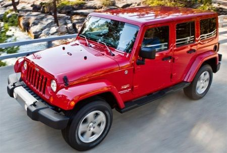 red four door jeep wrangler - Google Search