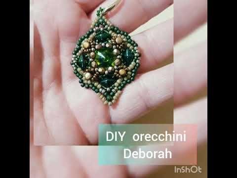DIY Tutorial Orecchini Deborah YouTube nel 2020   Tutorial