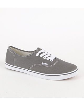 Vans Authentic Lo Pro Pewter Sneaker! I need these