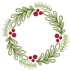 31++ Holly christmas wreath silhouette ideas in 2021