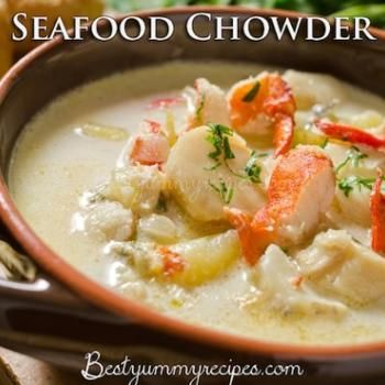 Seafood Chowder Recipe - ZipList