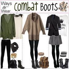 combat boot outfits ideas tumblr - Google keresés | Outfit ...