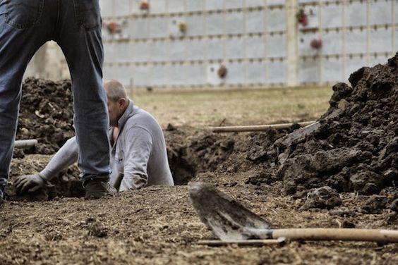 The artists want to exhume and rebury deceased migrants in Berlin Photo: Zentrum Für Politische Schönheit