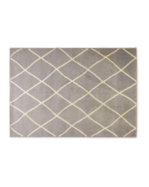 Kirkton House Grey White Rug In 2020 White Rug Grey And White Rug Rugs