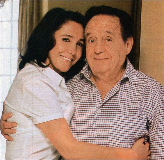 Florinda Meza e Roberto Bolaños casados... =)