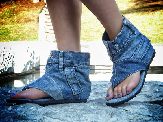 jeans-sandals-denim-shoes-etsy