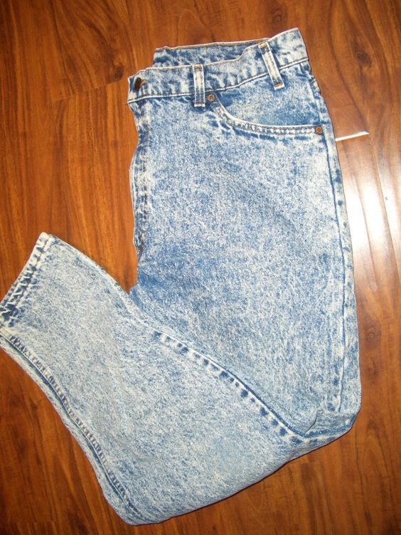 Vtg 80's LEVIS 550 Mens jeans tag 36 x 29 real 36x 28.5