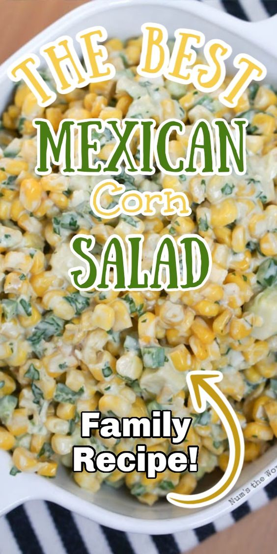 The Best Mexican Corn Salad