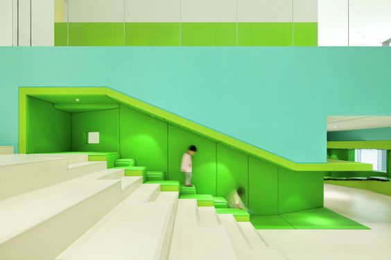 This New Children's Play Space Is Filled With Fun Colorful Areas