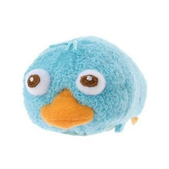 Disney Store Mini (S) Tsum Tsum Perry Phineas and Ferb Plush Doll 4936313414370