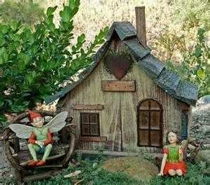 Image detail for -... Fairy house is a grand miniature fairy garden estate for your gardens