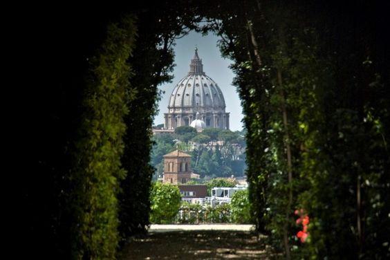 Buco della serratura di Roma, Рим, Італія