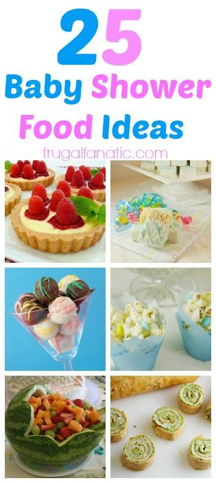 Planning a baby shower? Take a look at these cute food ideas you can make!