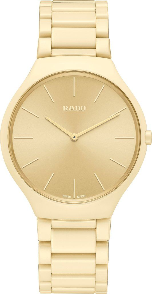 Rado Watch True Thinline Les Couleurs Cream White Limited Edition Pre Order Add Content Basel 19 Bezel Fixed Br Simple Watches Limited Edition Watches Rado